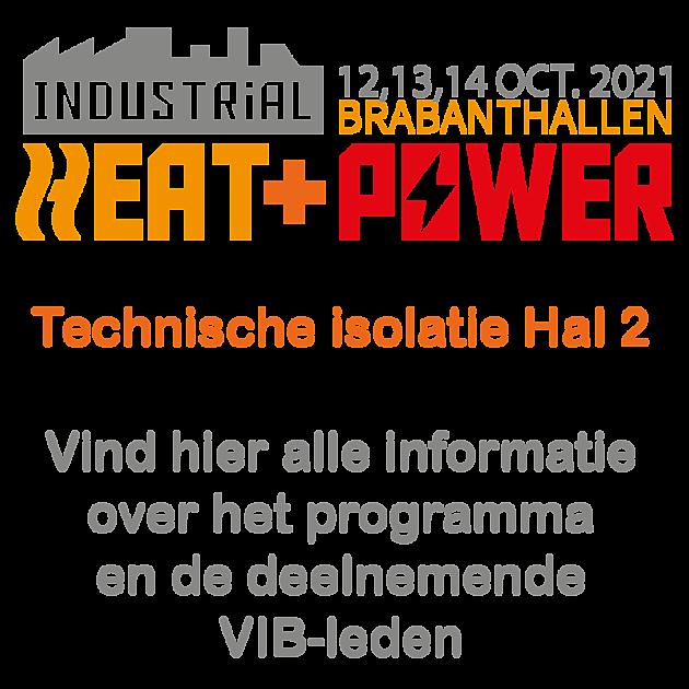 Industrial Heat and Power 2021 - VIB Ondernemers in het Thermisch Isolatiebedrijf
