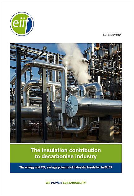 Update 2021 EiiF studie. The insulation contribution to decarbonise industry - VIB Ondernemers in het Thermisch Isolatiebedrijf