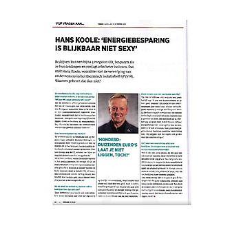 VNO-NCW, Opinieblad FORUM, 5 vragen aan Hans Koole VIB Ondernemers in het Thermisch Isolatiebedrijf